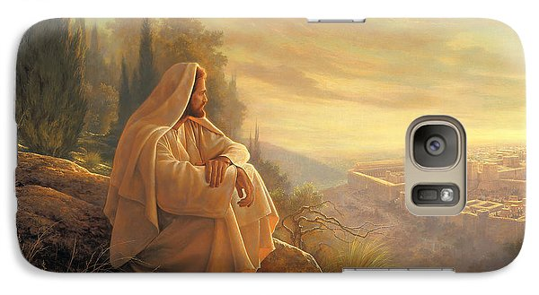 O Jerusalem Galaxy Case by Greg Olsen