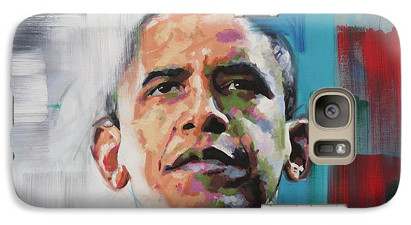 Obama Galaxy Case by Richard Day