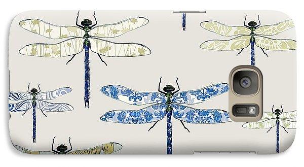 Odonata Galaxy Case by Sarah Hough