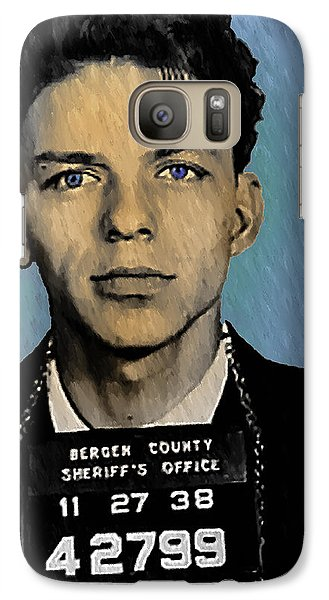 Old Blue Eyes - Frank Sinatra Galaxy Case by Bill Cannon