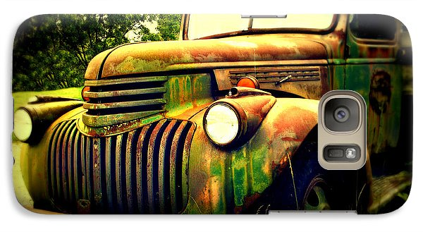 Old Flatbed 2 Galaxy S7 Case by Perry Webster