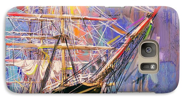 Old Ship 226 4 Galaxy S7 Case by Mawra Tahreem