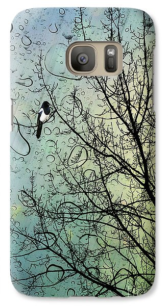 One For Sorrow Galaxy S7 Case by John Edwards