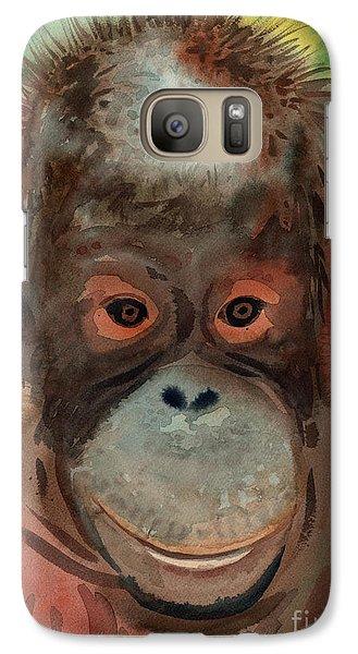 Orangutan Galaxy Case by Donald Maier