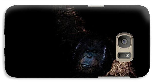 Orangutan Galaxy Case by Martin Newman