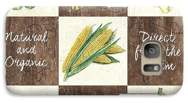 Organic Market Patch Galaxy Case by Debbie DeWitt