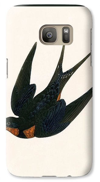 Oriental Chimney Swallow Galaxy S7 Case by English School
