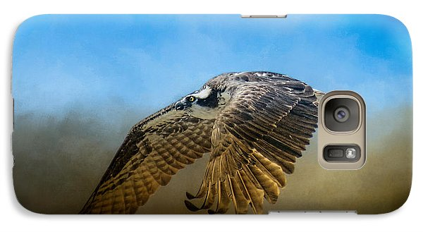 Osprey Over Pickwick Galaxy Case by Jai Johnson