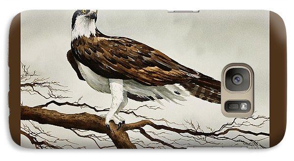 Osprey Sea Hawk Galaxy Case by James Williamson