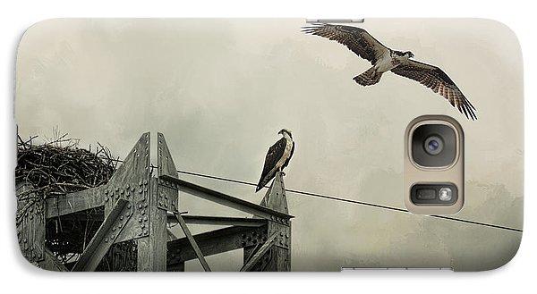 Ospreys At Pickwick Galaxy Case by Jai Johnson