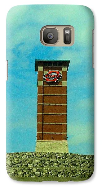 Oklahoma State University Gateway To Osu Tulsa Campus Galaxy Case by Janette Boyd