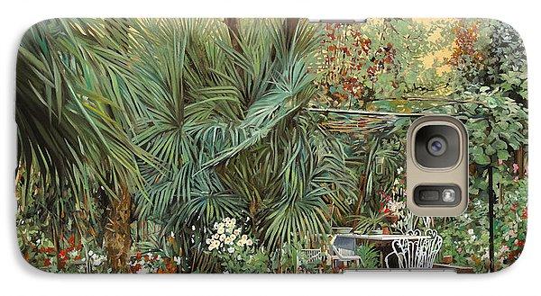 Our Little Garden Galaxy Case by Guido Borelli