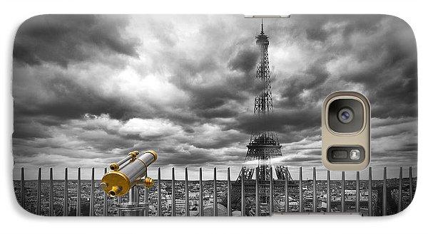 Paris Composing Galaxy S7 Case by Melanie Viola