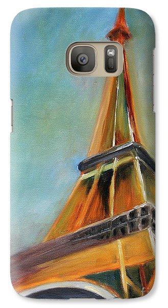 Paris Galaxy S7 Case by Jutta Maria Pusl