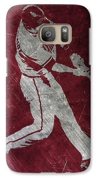 Paul Goldschmidt Arizona Diamondbacks Art Galaxy Case by Joe Hamilton