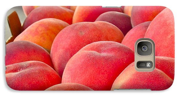 Peaches For Sale Galaxy S7 Case by Gwyn Newcombe