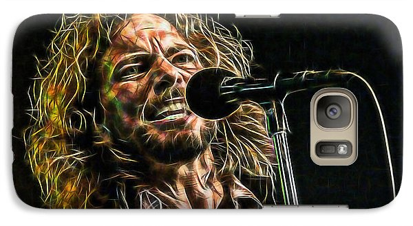 Pearl Jam Eddie Vedder Collection Galaxy Case by Marvin Blaine