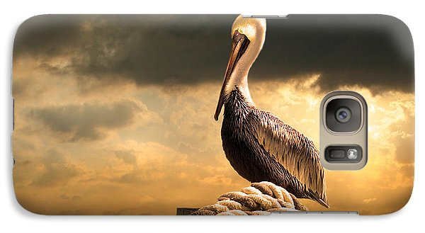 Pelican After A Storm Galaxy S7 Case by Mal Bray