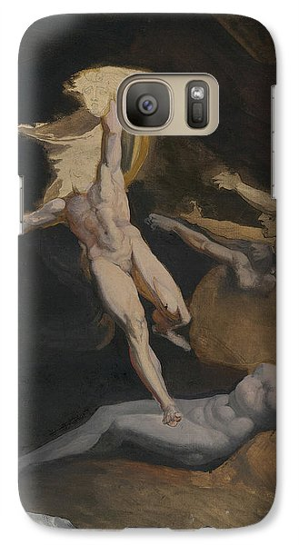 Perseus Slaying The Medusa Galaxy S7 Case by Henry Fuseli