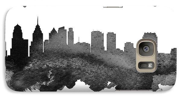 Philadelphia Pennsylvania Skyline 18 Galaxy S7 Case by Aged Pixel