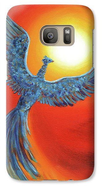 Phoenix Rising Galaxy S7 Case by Laura Iverson