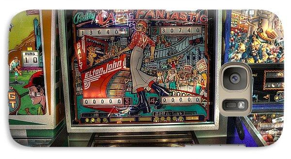 Pinball Elton John Bally Galaxy Case by Jane Linders