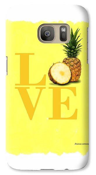 Pineapple Galaxy S7 Case by Mark Rogan