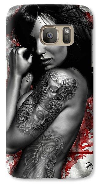 Plata O Plomo Galaxy S7 Case by Pete Tapang