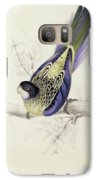 Platycercus Brownii, Or Browns Parakeet Galaxy Case by Edward Lear