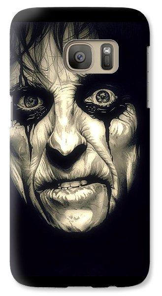 Poison Alice Cooper Galaxy Case by Fred Larucci