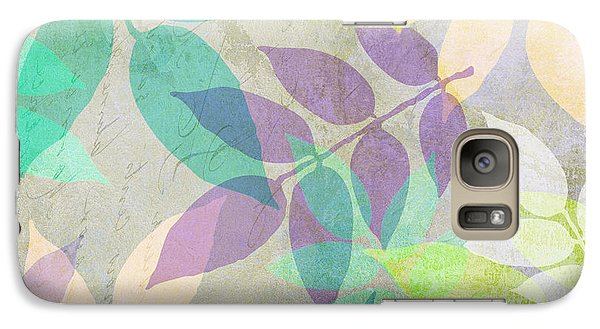 Poppy Shimmer IIi  Galaxy S7 Case by Mindy Sommers