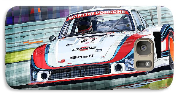 Porsche 935 Coupe Moby Dick Martini Racing Team Galaxy S7 Case by Yuriy  Shevchuk