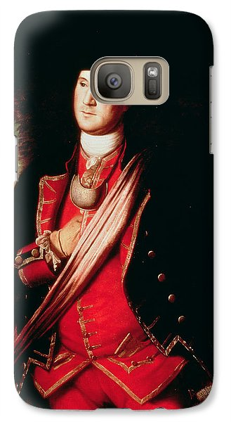 Portrait Of George Washington Galaxy S7 Case by Charles Willson Peale