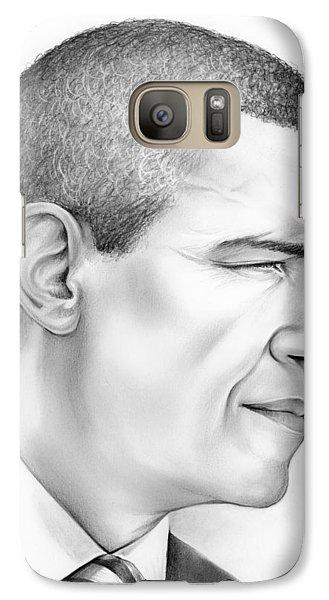 President Obama Galaxy S7 Case by Greg Joens