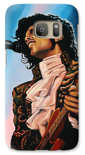 Prince Painting Galaxy Case by Paul Meijering
