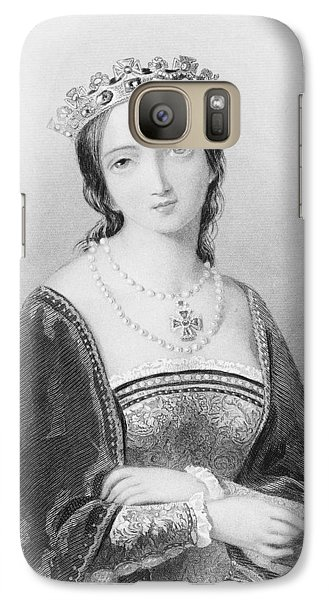Queen Mary I, Aka Mary Tudor, Byname Galaxy S7 Case by Vintage Design Pics
