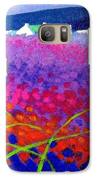Rainbow Meadow Galaxy S7 Case by John  Nolan