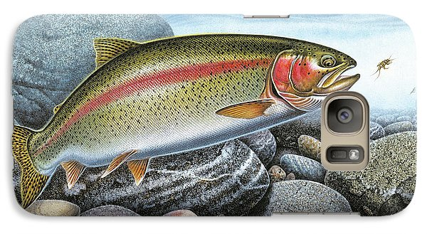 Rainbow Trout Stream Galaxy S7 Case by JQ Licensing