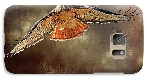 Raptor Galaxy Case by Donna Kennedy
