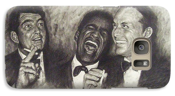 Rat Pack Galaxy Case by Cynthia Campbell