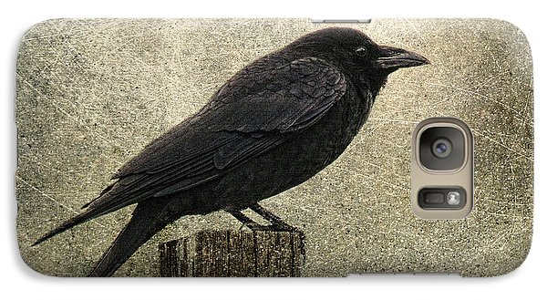 Raven Galaxy S7 Case by Elena Nosyreva