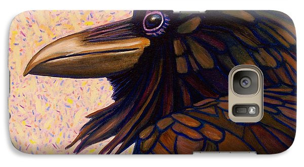 Raven Shaman Galaxy S7 Case by Brian  Commerford