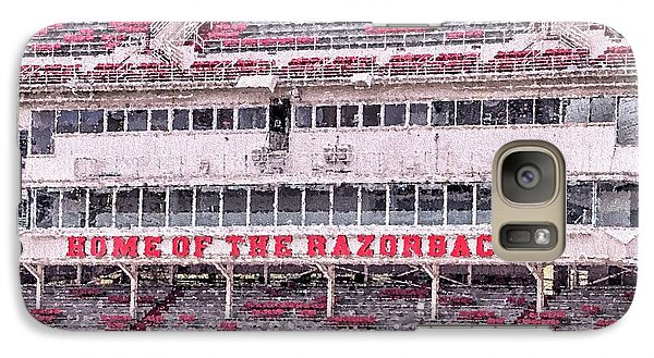 Razorback Stadium Galaxy S7 Case by JC Findley