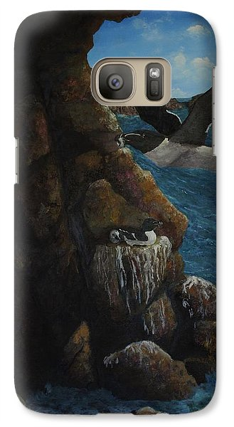 Razorbills Galaxy Case by Eric Petrie
