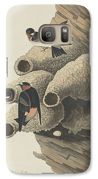Republican Cliff Swallow Galaxy Case by John James Audubon