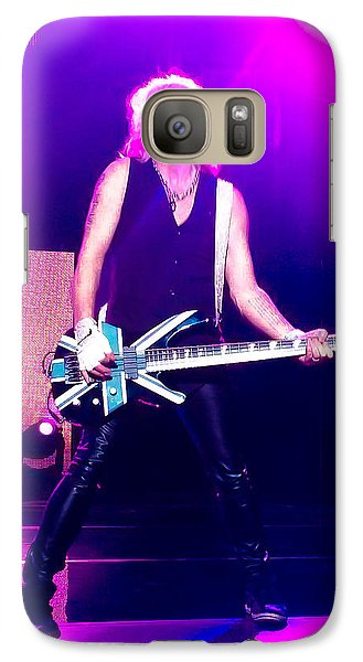 Rick Savage Of Def Leppard Galaxy Case by David Patterson