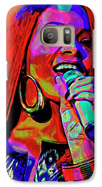 Rihanna  Galaxy Case by  Fli Art