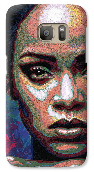 Rihanna Galaxy Case by Maria Arango