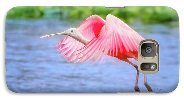 Rise Of The Spoonbill Galaxy S7 Case by Mark Andrew Thomas