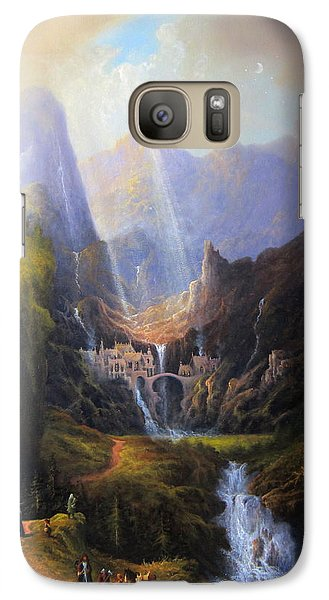 Rivendell. The Last Homely House.  Galaxy S7 Case by Joe Gilronan